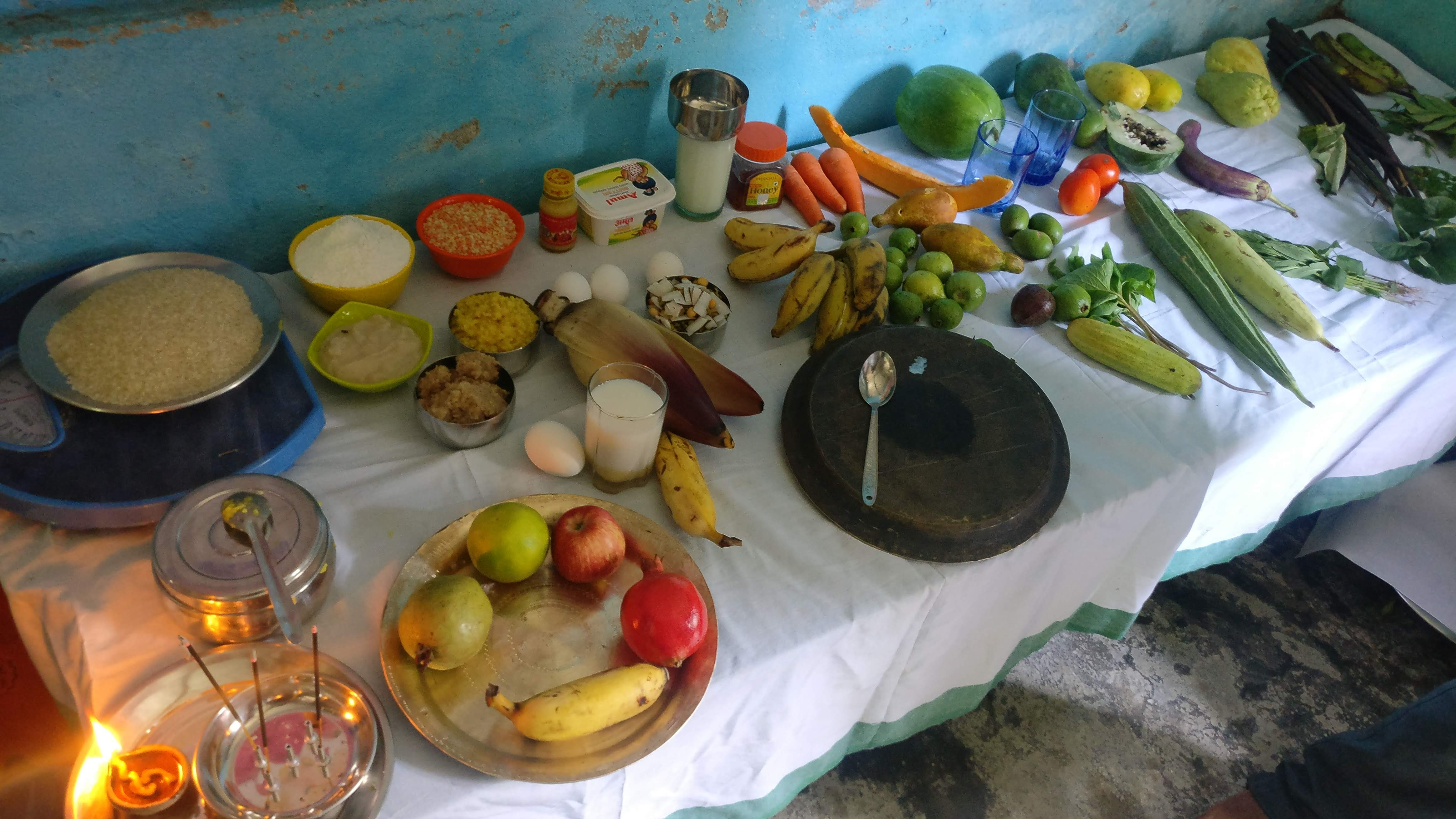 ANSH Stall At The Health Mela During National Nutrition Week At Bisheshwarganj Block Of Bahraich District